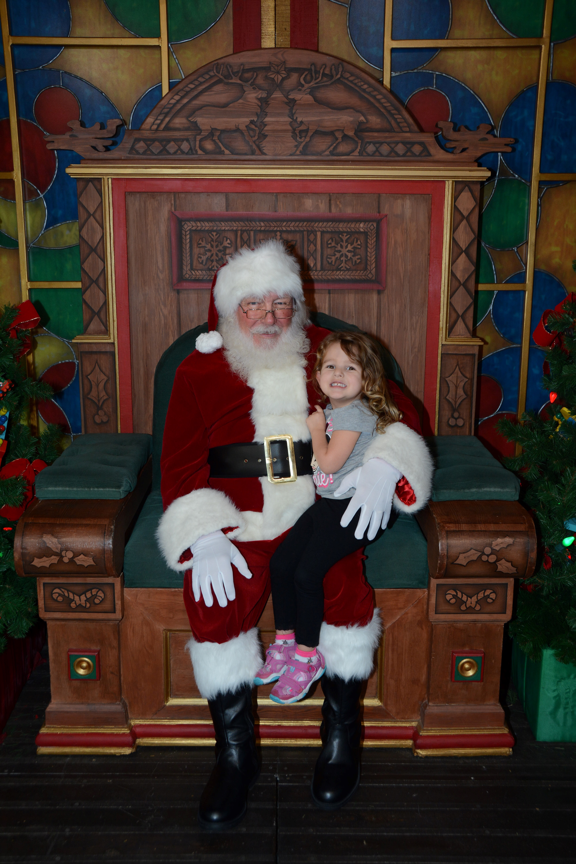 Santa Holiday at Disney Springs Orlando FL