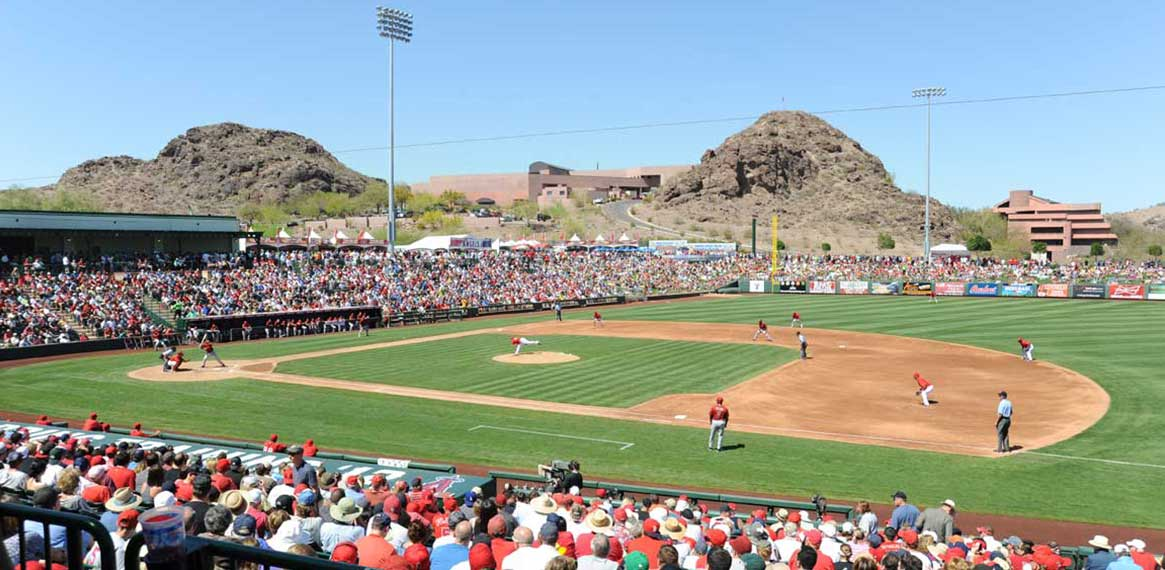 Spring Training Baseball in Scottsdale