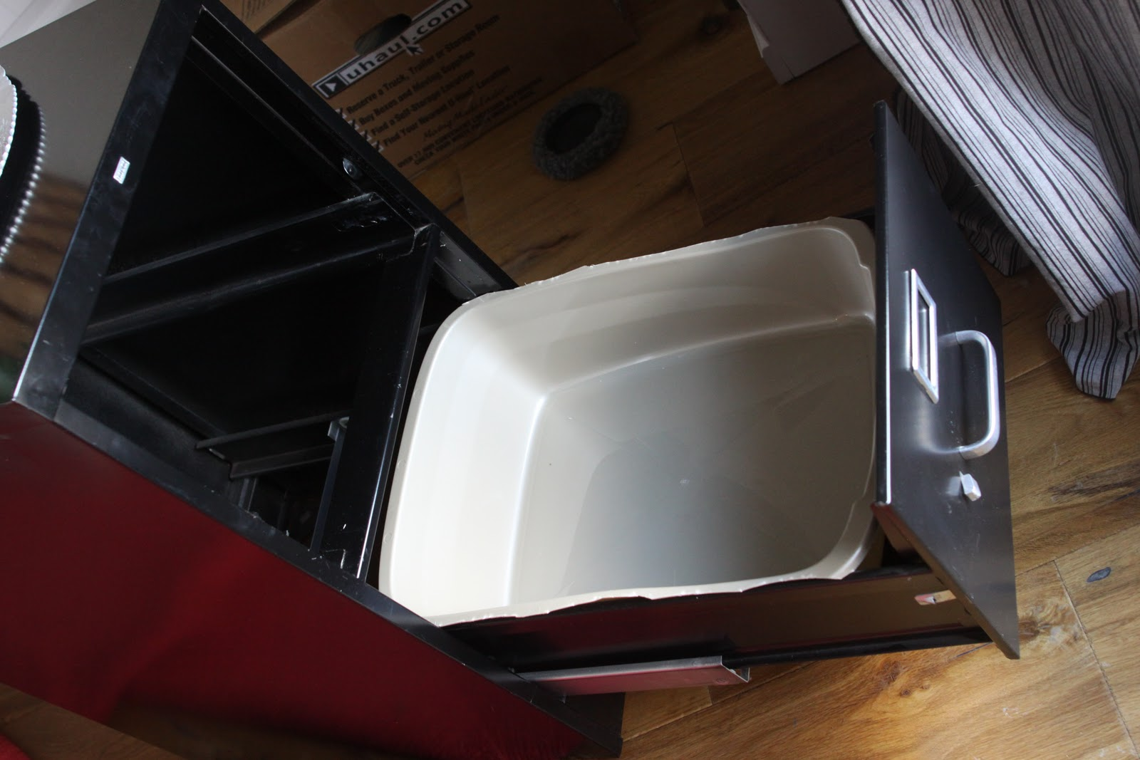 Filing Cabinet Litter Box