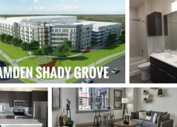 Camden Shady Grove in Washington DC area opens Early 2017