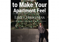 3 Ways to Make Your Apartment Feel Like Christmas