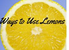 5 Shocking Ways to Use Lemons