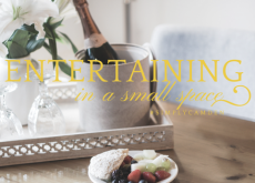 entertaining in a small space