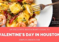 Top Houston Restaurants for Valentine's Day