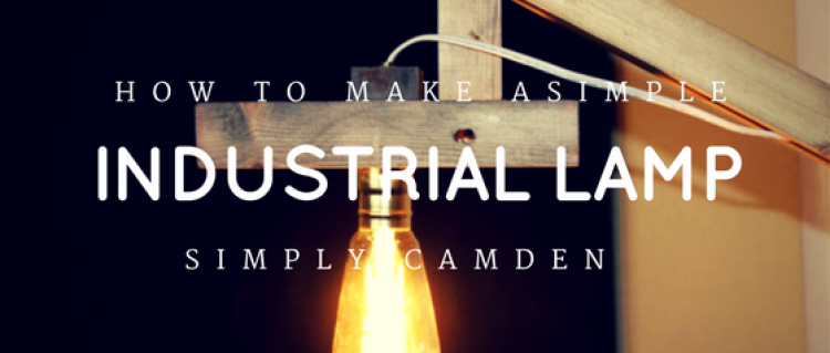 How to Make a Simple Industrial Floor Lamp by Home Depot
