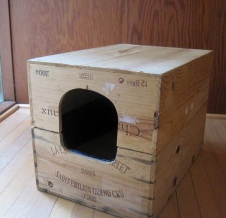 Wine Case Litter Box
